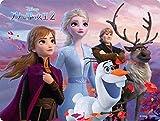63ピース 3Dマジックジグソーパズル まほうのひみつ(アナと雪の女王2) 【レンチキュラー】