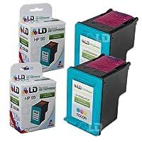 LDリサイクル交換用インクカートリッジHewlett Packard c8766wn (HP 95) 3色(2パック)