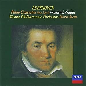ベートーヴェン:ピアノ協奏曲第3番&第4番