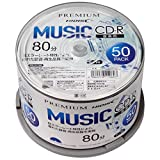 HI-DISC 音楽用CD-R HDSCR80GMP50 (700MB/32倍速/50枚)