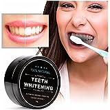 Oral Dentistryチャコールホワイトニング 歯磨き粉 歯のホワイトニング 歯磨き剤 食べる活性炭 活性炭パウダー 竹炭 ブラック (1個)