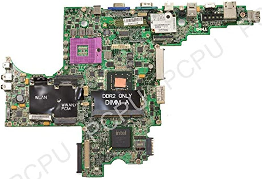 中国排気長老Dell Latitude D830 マザーボード 0MY199 MY199 Intel ビデオチップセット (認定整備済み)