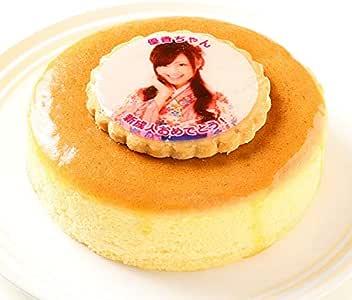写真ケーキ スフレチーズケーキ 5号 15cm