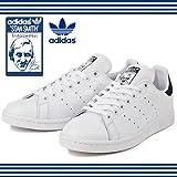 (アディダス) adidas STAN SMITH スタンスミス M20324 M20325 M20327 ホワイト/ネイビー 26.0cm