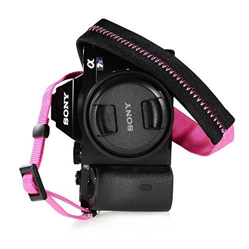 Canon Nikon Sony Panasonic Fujifilm Olympus Pentax Sigma DSLR/SLR/EVILカメラwith FotoTechベルベットバッグ