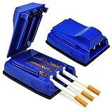 Idealhere タバコ巻き機 手巻器 楽しめる 煙草 紙巻器 手巻きタバコ ローリングマシーン 喫煙具 (ブルー)