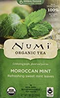 Numi Tea, Organic Herbal Teasan, Caffeine Free, Moroccan Mint, 18 Tea Bags, 1.40 oz (39.6 g)