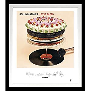 Rolling Stones: Let It Bleed Lithograph [Analog]
