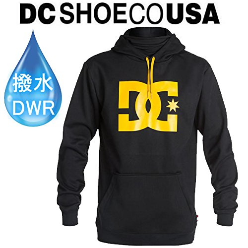DC SHOE(ディーシーシュー) スノーボード パーカー 防水(DCSHOE ディーシーシュー)SNOWSTAR PO/ブラック(KVJ0)防水・撥水加工アパレル L