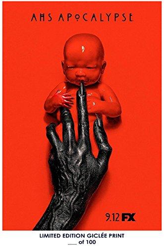 LostポスターRareポスターThick American Horror Story : Apocalypse FX 2018再印刷# ' d / 100!!12?x 18