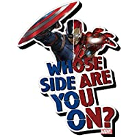 Aquarius Captain America Civil War Whose Side Funky Chunky Magnet [並行輸入品]