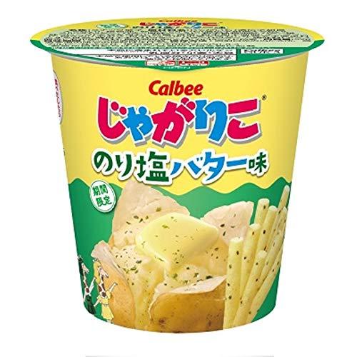 じゃがりこ(のり塩バター味)の通販の画像