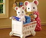 海外版シルバニアUSシロネズミの母と子 ショッピング