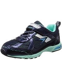 [シュンソク] 運動靴 通学履き 瞬足 防水 軽量 19~24.5cm 2E キッズ 女の子