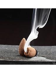 逆流startdy自然煙PagodaインドアIncense円錐Bulletアロマセラピーのヨガ瞑想45pc /ボックス