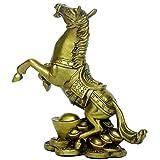 金持ちになる馬 大きい元宝  馬蹄銀  馬がひひーんと嘶いて  縁起物 幸運 開運グッズ  新年の祝い すぐ成功になります 運気アップ 金運アップ 魔除け