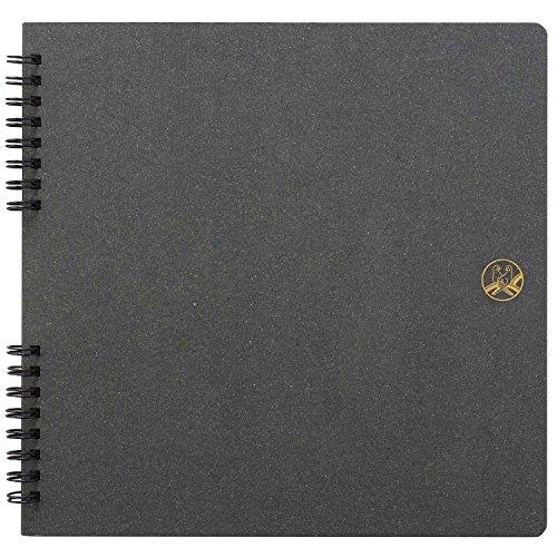 SEKISEI アルバム スクラップ ふうあい スクラップブック コラージュ向き 黒クラフト台紙 20ページ 11~20ページ FU-2162 FU-2162-00
