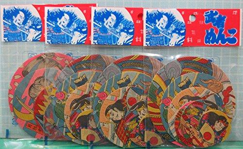 ユー・アイ 武者丸めんこ 24枚セット (1袋6枚入り×4袋)