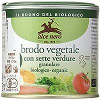 ALCE NERO(アルチェネロ) 有機野菜ブイヨン・パウダータイプ 120g