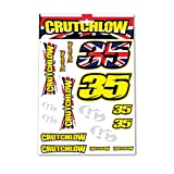 カル クラッチロウ(CAL CRUTCHLOW) Moto GP BIGステッカーセット CC-ST-1175