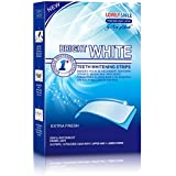 Professional Teeth Whitening Strips with Non-Slip Tech - Bright White - Lovely Smile Premium Line - 28 Whitening Strips