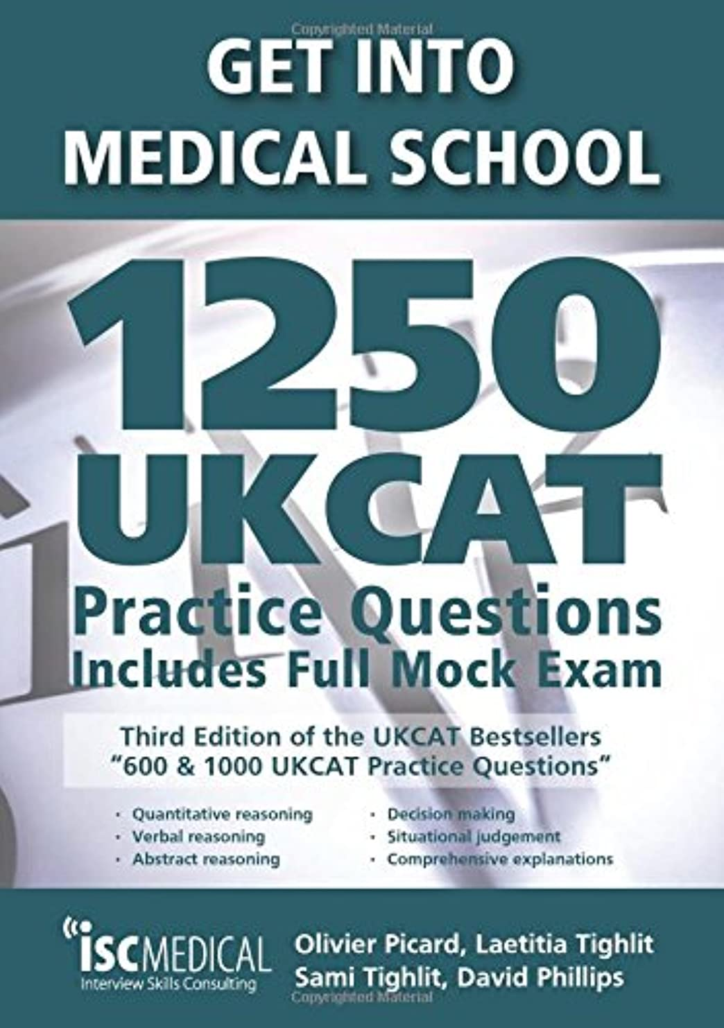 配分クレジットカスタムGet into Medical School - 1250 UKCAT Practice Questions. Includes Full Mock Exam