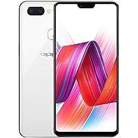 OPPO R15 6.28型 Android 8.1 SIMフリー/6GB+128GB/スクリーンフルOLED/4G+4G/指紋+顔認証・AI搭載/2K画面/Snow・White [並行輸入品]