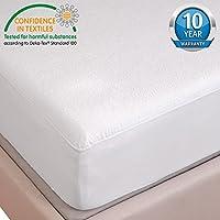 HYSENM 防水 ボックスシーツ ベッドシーツ フランネル地 ズレ防止 通気 吸湿 抗菌 肌に優しい 過敏なし 丸洗え 子供 介護 ペット 七つサイズ ホワイト 200*200+30cm