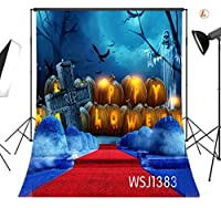 LB 1.5×2.1m ハロウィン 写真撮影用 背景布 写真館 バックペーパー 人物撮影 祝日撮影 布バック 背景紙 撮影スタジオ用 パーティー コスプレ用 ポリエステル生地 洗濯可能