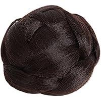 [N-hilfe] シニヨン ネット レディース ポイント ウィッグ お団子 つけ毛 髪飾り