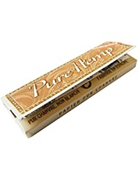pure hemp ピュアヘンプ アンブリーチシングルペーパー 50枚入りx5個セット シャグ 喫煙具 手巻き