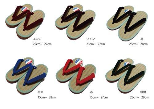 ミサトっ子草履 赤 22cm