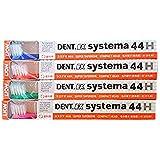 デント 歯ブラシ DENT EX システマ 4色アソート 20本入り 44H