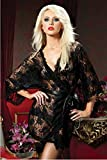 Seven 'til Midnight - Paisley Pleasure Lace Robe XL/XXL