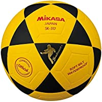 Mikasa SK-317 シリーズ インドア ミニサッカーボール ブラック イエロー