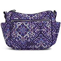 Vera Bradley womens Iconic on the Go Crossbody, Signature Cotton