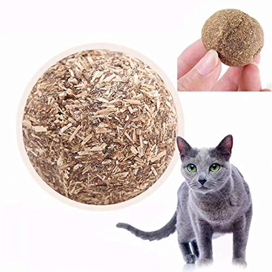出席する明るい家庭教師七里の香 猫ミントボール 歯ぎしり?噛むおもちゃ 猫ストレス解消グッズ