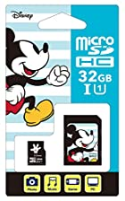[Nintendo Switch対応] ディズニー microSDカード アダプターセット 32GB ミッキー