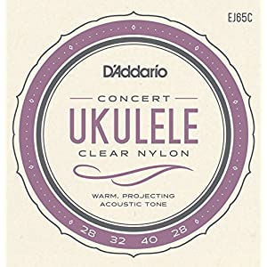 D'Addario ダダリオ ウクレレ弦 Pro-Arté Custom Extruded Nylon Concert EJ65C 【国内正規品】