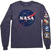 Fifth Sun NASA Logo Adult Long Sleeved T-Shirt