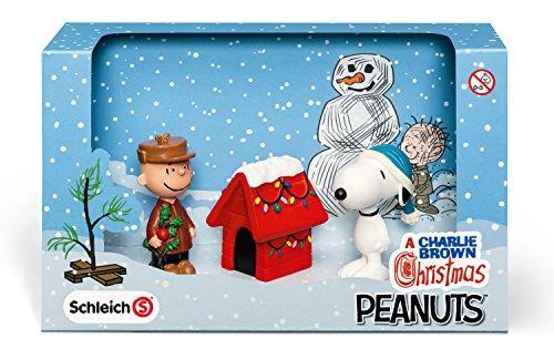 Schleich シュライヒ PEANUTS フィギュア ピーナッツ シーナリーパック クリスマス 22017