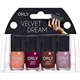 Orly Nail Lacquer Mani Minis - Velvet Dream - 4 x 0.18 Oz/5.3 mL