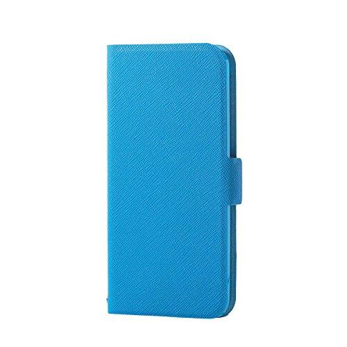 エレコム iPod Touch用 ソフトレザーカバー  ライトブルー  AVA-T17PLFULBU