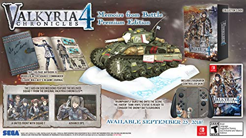 "of America, Inc."" Valkyria Chronicles 4 - Nintendo Switch Memoirs From Battle Edition (LimitedEdition) - Imported Item."