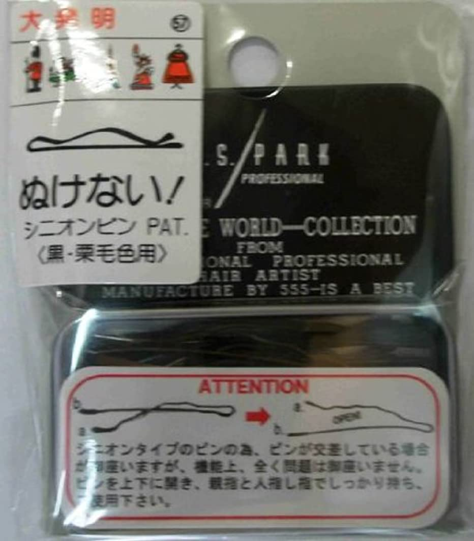 相関するどちらかメガロポリスY.S.PARK世界のヘアピンコレクションNo.57(黒?栗毛色用)24P
