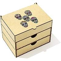 Azeeda 'シュガースカルズバニティケース/化粧箱(VC00019149)