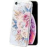 iphone 7 iphone 8 ケース 花柄 はな フラワー 花 あいほん8 アイホン8 あいふぉん7 携帯ケース カバー 耐衝撃 スマホかばー カーネーション amo3602