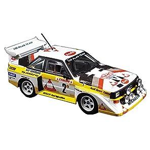 青島文化教材社 1/24 BEEMAXシリーズ No.21 アウディ スポーツクワトロ S1 E2 1986 モンテカルロラリー仕様 プラモデル
