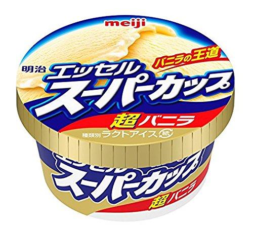 明治 エッセルスーパーカップ超バニラ 200ml×24個 【冷凍】