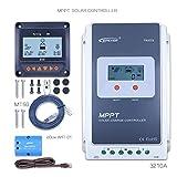 ソーラー充電コントローラ、トレーサ4210 40アンペアmpptチャージコントローラー、y-solarによる太陽制御 (4210A+Ebox(wifi)+RTS)